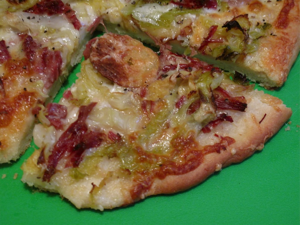 Photo Gallery: Corned Beef-and-Cabbage Pizza