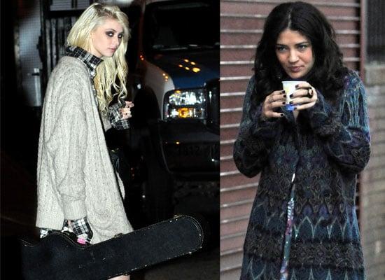 Gallery of Photos of Taylor Momsen, Jessica Szohr, Matthew Settle on Set of Gossip Girl, Lady GaGa has Filmed her Cameo