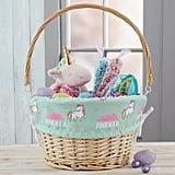 Unicorn Adventure Personalized Easter Basket