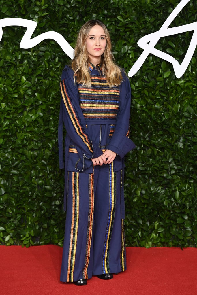 Bethany Williams at the British Fashion Awards 2019
