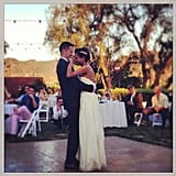 Damien Fahey danced with his bride, Grasie Mercedes. Source: Instagram user damienfahey