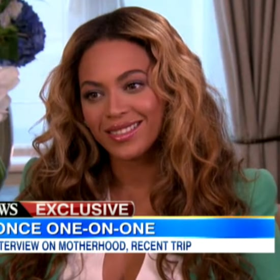 Beyonce Interview on Good Morning America