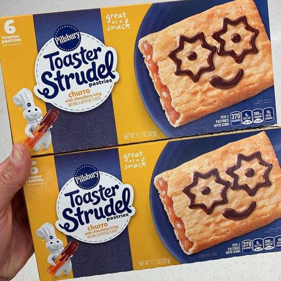 Pillsbury Toaster Strudel Churro Flavor