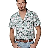 Hopper Button Down Shirt From Stranger Things