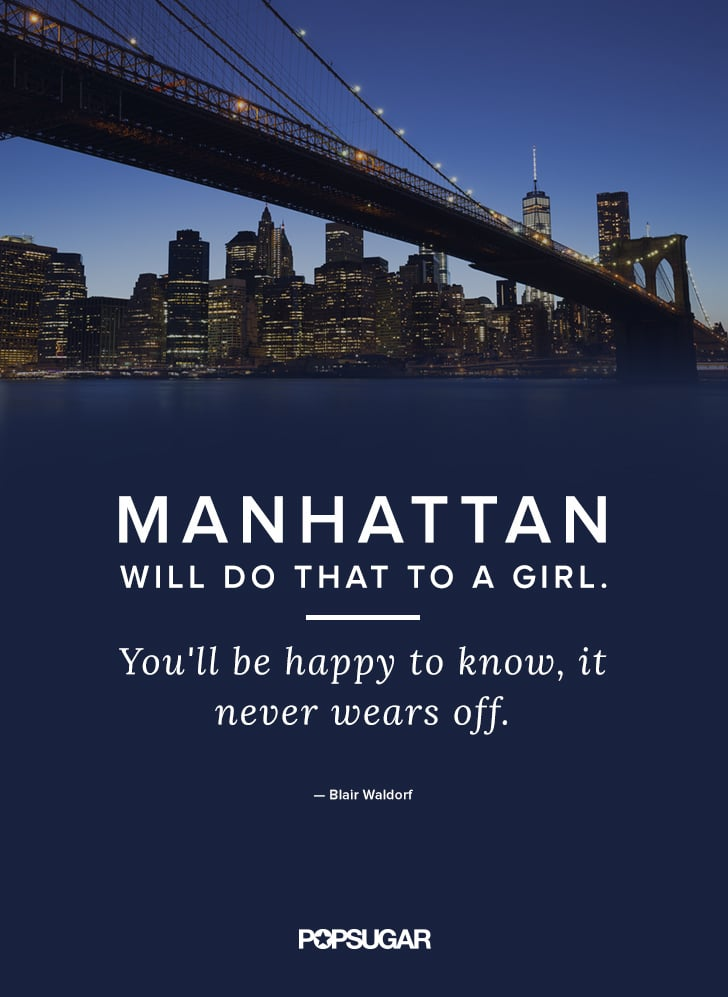 Gossip Girl Quotes About New York: Blair Waldorf Gossip Girl Fashion Quotes