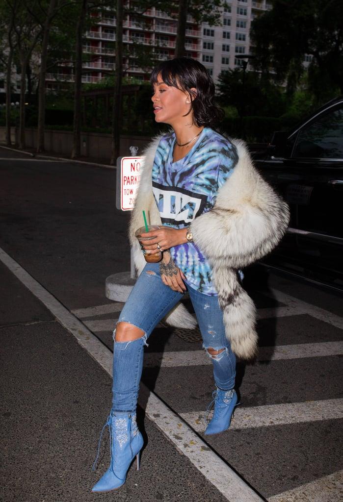 Rihanna x Manolo Savage Boot Collection 2016