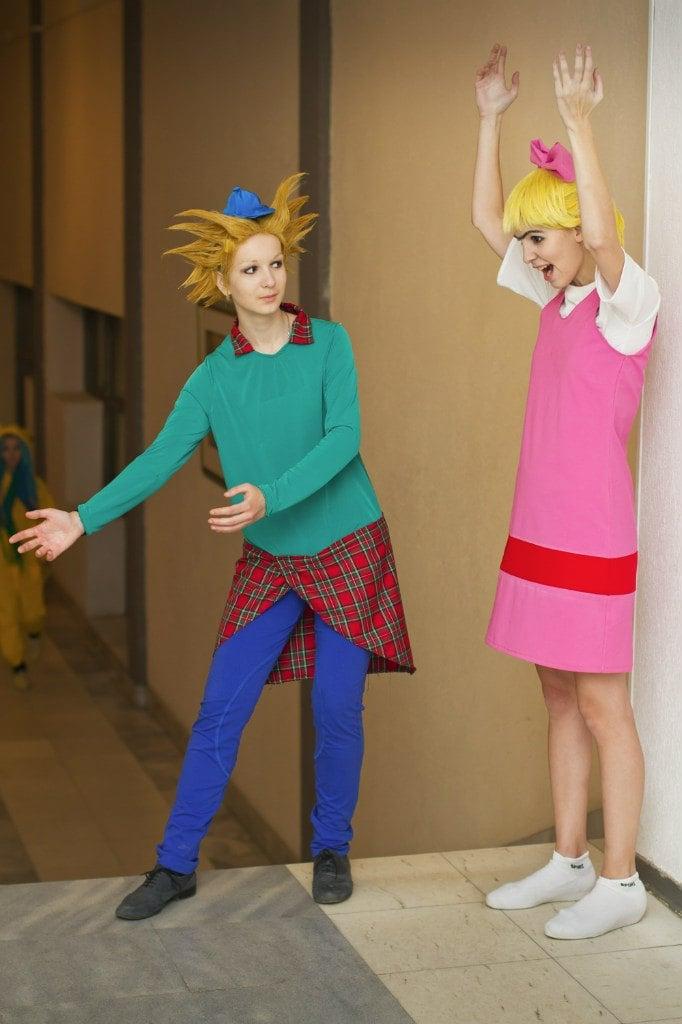 Arnold and Helga - 90s Halloween Costumes POPSUGAR Love & Sex