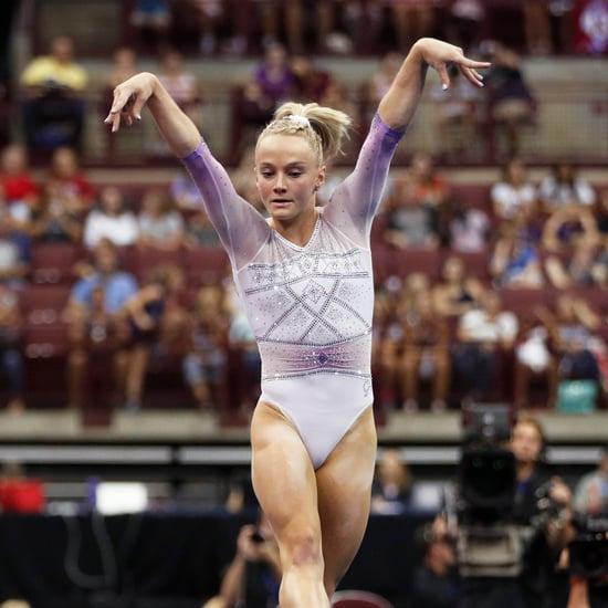 Riley McCusker This Is Halloween Gymnastics Floor Routine