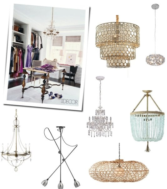 Merveilleux You Visit Your Closet At Least Once A Day U2014 So Why Not Dress It Up A Bit?  Adding A Stylish Chandelier To Your Closet Ceiling Can Make The Space Feel  More ...