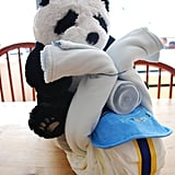 For a Baby Shower: Panda on a Chopper