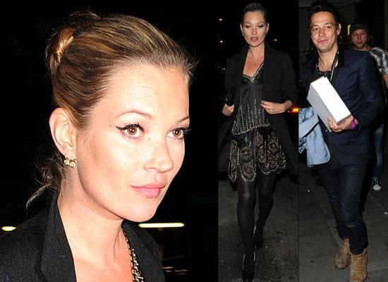 Photos of Kate Moss and Jamie Hince at Art Plus Music Party