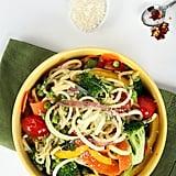 Courgette Spaghetti Primavera