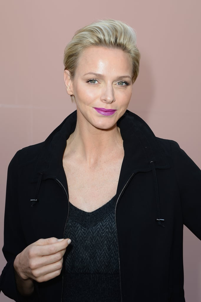 Princess Charlene of Monaco at Louis Vuitton Spring 2014