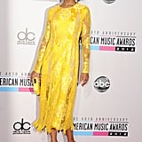 Kerry Washington attended the American Music Awards.