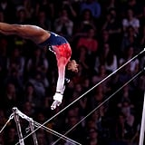 How Many World Championship Medals Has Simone Biles Won on the Uneven Bars?
