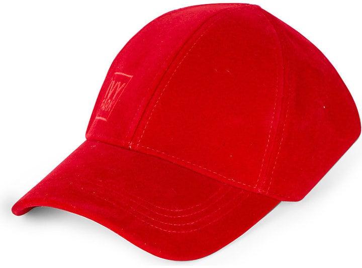 5811ebe706d Ivy Park Backless Velvet Baseball Cap