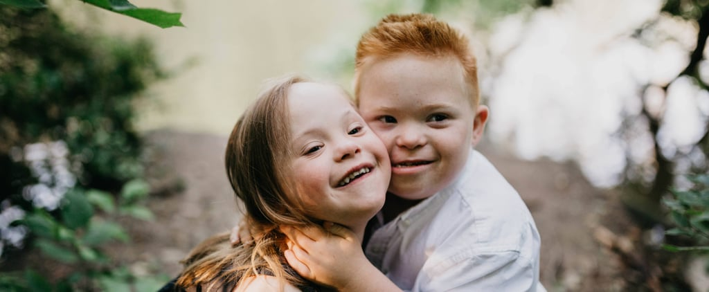 "This Photo Series Starring 7-Year-Old Sweethearts With Down Syndrome Proves ""Our Hearts Are All the Same"""