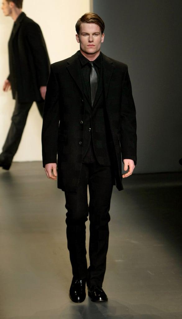 New York Fashion Week: Calvin Klein Men's Fall 2009