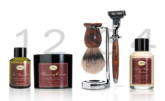One for the Guys: The Art of Shaving