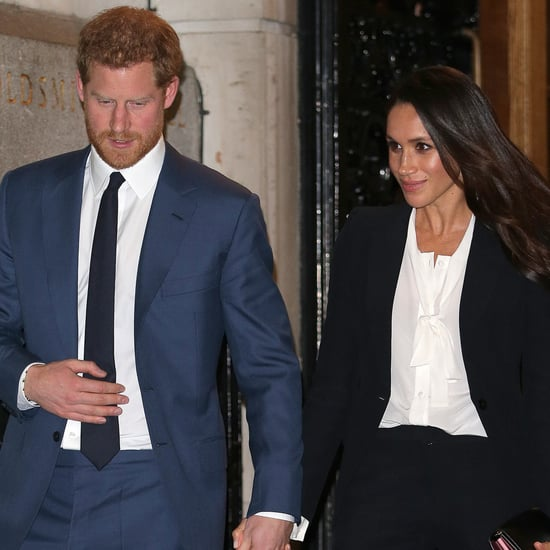 Meghan Markle and Prince Harry at Endeavour Awards Panel