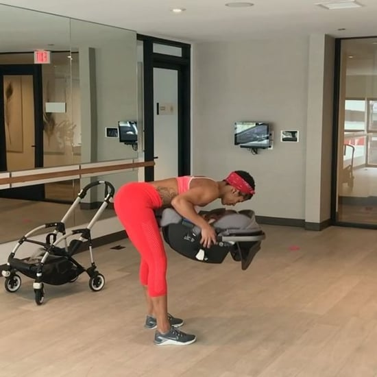 Massy Arias Baby Stroller Workout