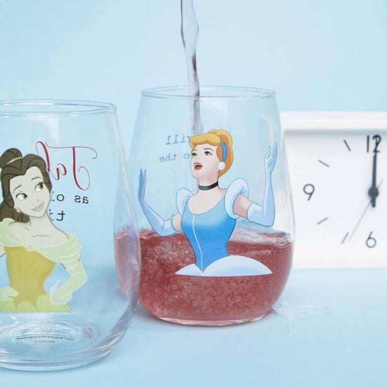 Disney Princess Wine Glasses