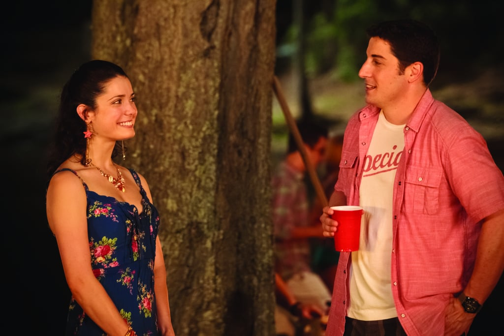 Ali Cobrin as Kara and Jason Biggs as Jim in American Reunion.  Photo courtesy of Universal Pictures