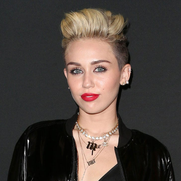 Pictures Of Miley Cyrus Pixie Cut Popsugar Beauty Australia