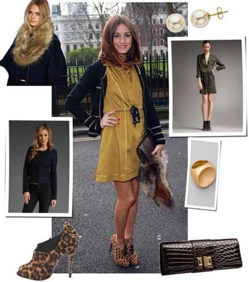 Olivia Palermo at London Fashion Week