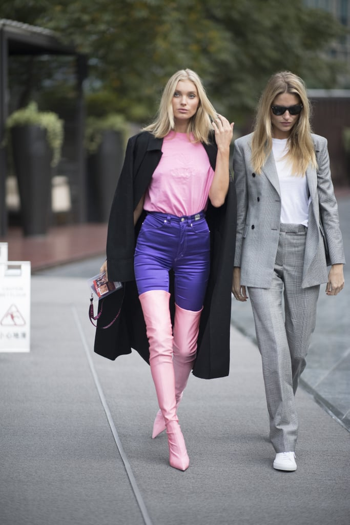 Try a Pair of Ultra Violet Pants, Then Rock the Look With Pink Accents