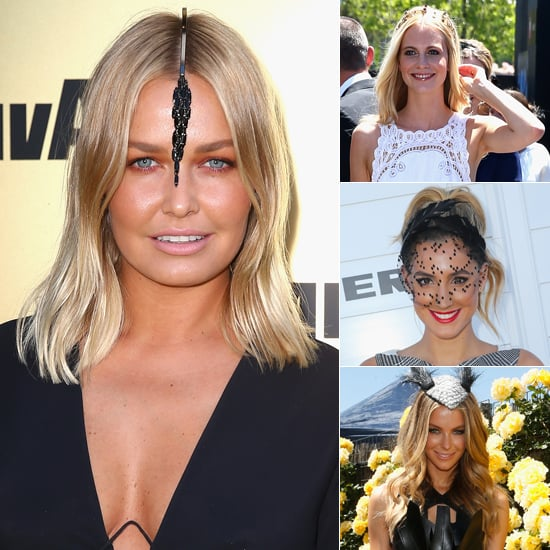 Lara Bingle, Poppy Delevingne, Jen Hawkins Derby Day Beauty