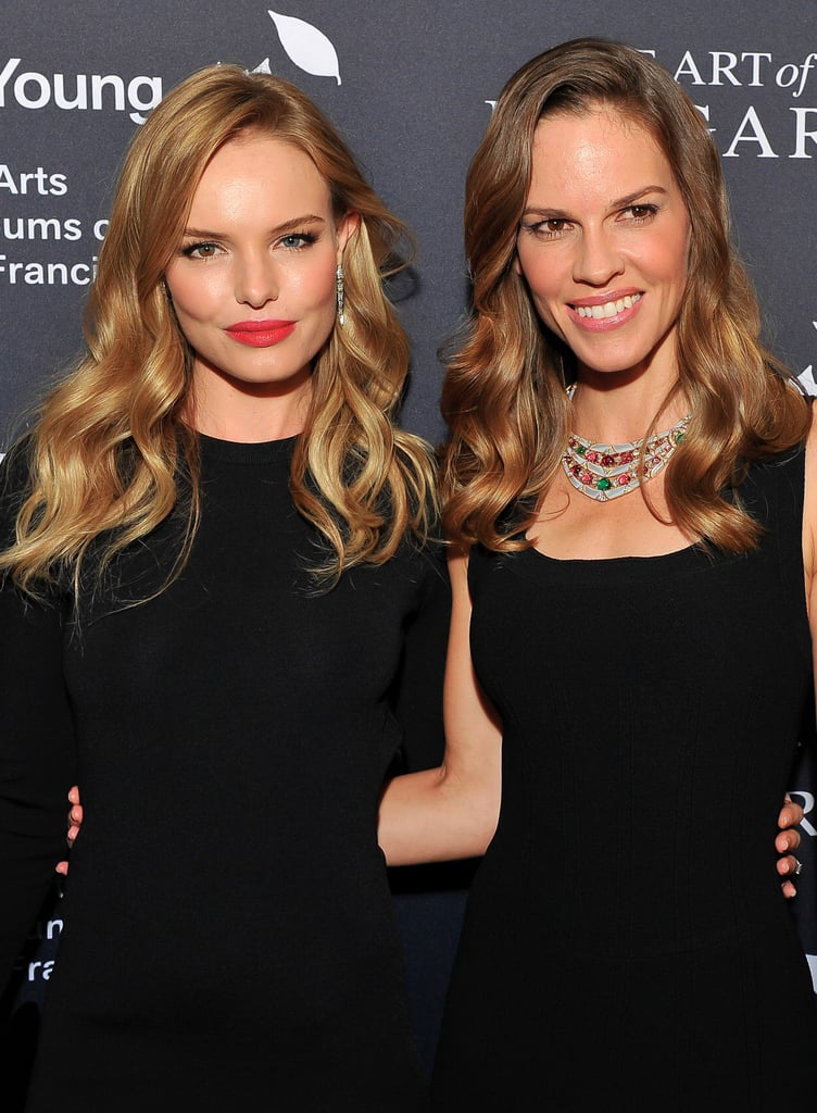 Kate Bosworth posed with Hilary Swank.