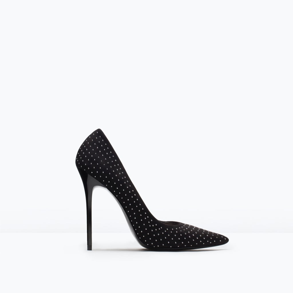 Zara Micro Studded Court Shoe ($80)