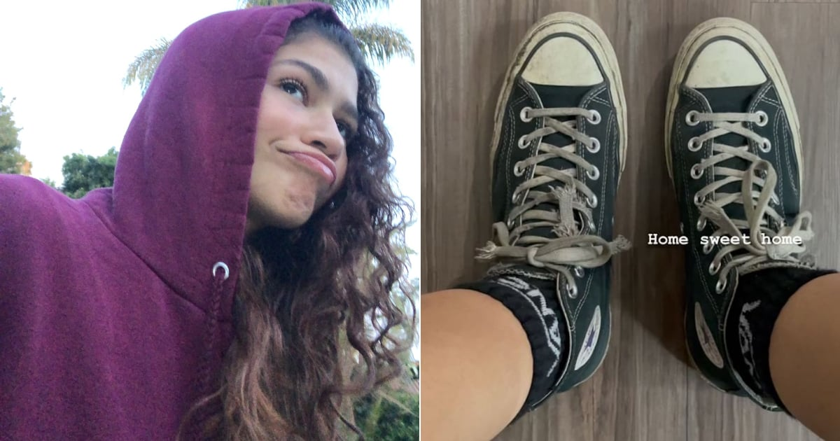 Zendaya Is Wearing Rue's Converse Sneakers, and That, My Friend, Warms the Heart
