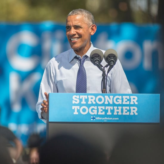 "President Obama Says ""Thanks, Obama"" at Philadelphia Rally"