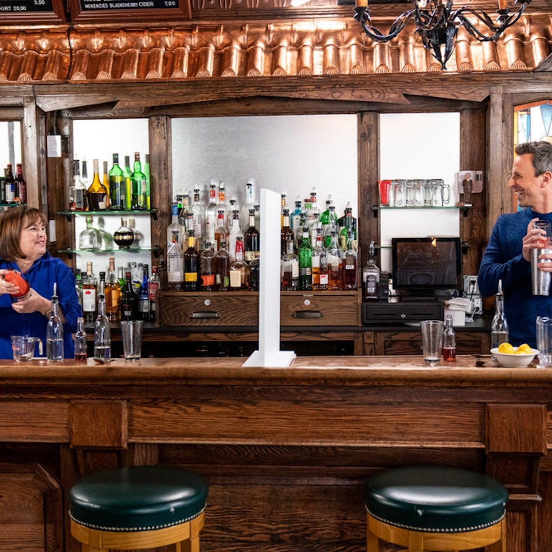 Ina Garten And Seth Meyers Go Day Drinking Popsugar Food