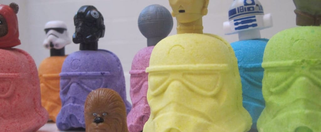 Awaken the Force (and the Relaxation!) With These Star Wars Bath Bombs