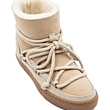 Inuikii Classic Genuine Shearling Sneaker Boot