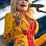 Pictures From Dolly Parton's Newport Folk Festival Performance