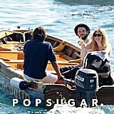 Tom Sturridge and Sienna Miller were accompanied by Marlowe Sturridge in Positano.