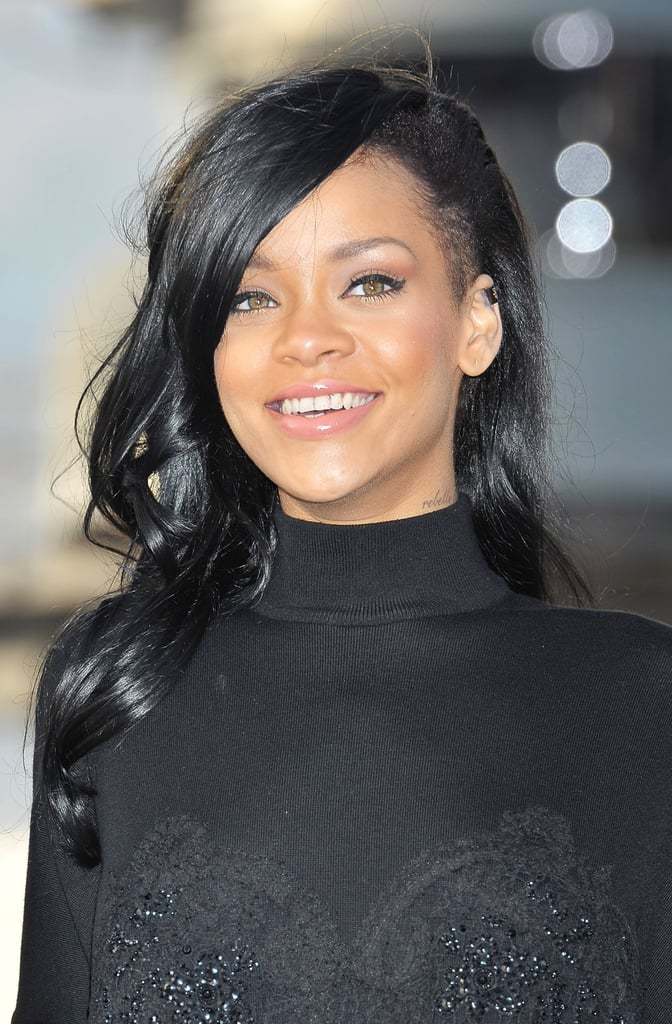 Incredible Rihanna Black Hair Pictures Popsugar Celebrity Hairstyle Inspiration Daily Dogsangcom