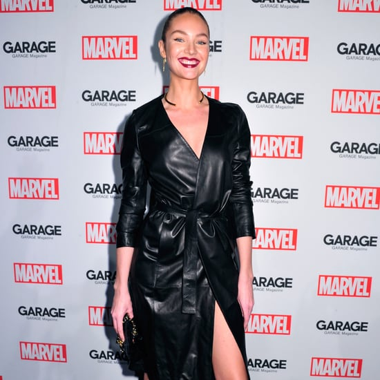 Candice Swanepoel Baby Bump Picture