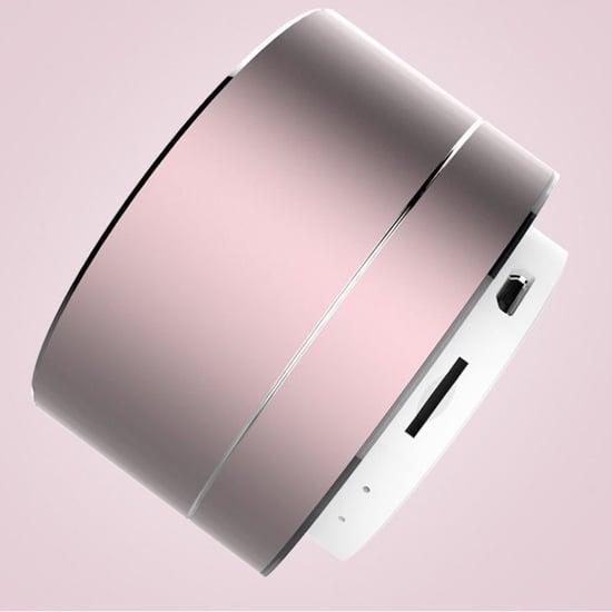Rose Gold Portable Speaker on Amazon