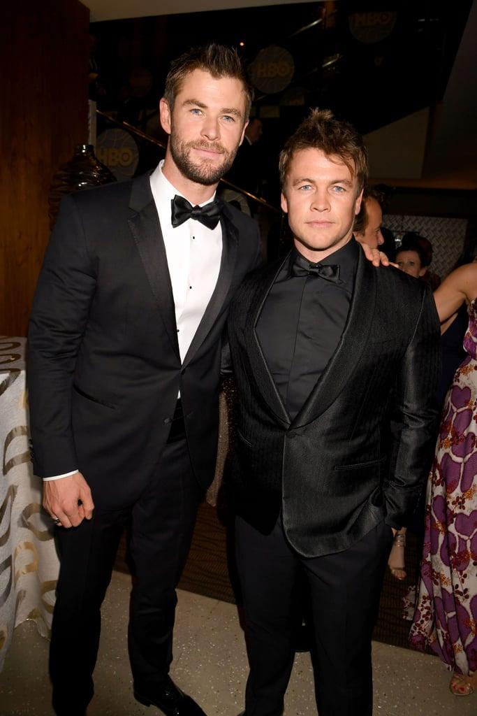 Pictured: Chris Hemsworth and Luke Hemsworth
