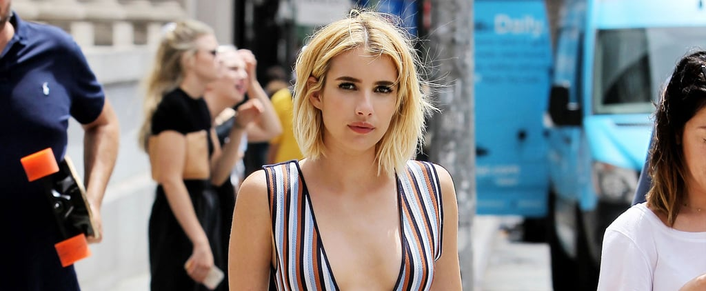 Emma Roberts's Sexy Outing in NYC Will Make You Want to Scream, Queen