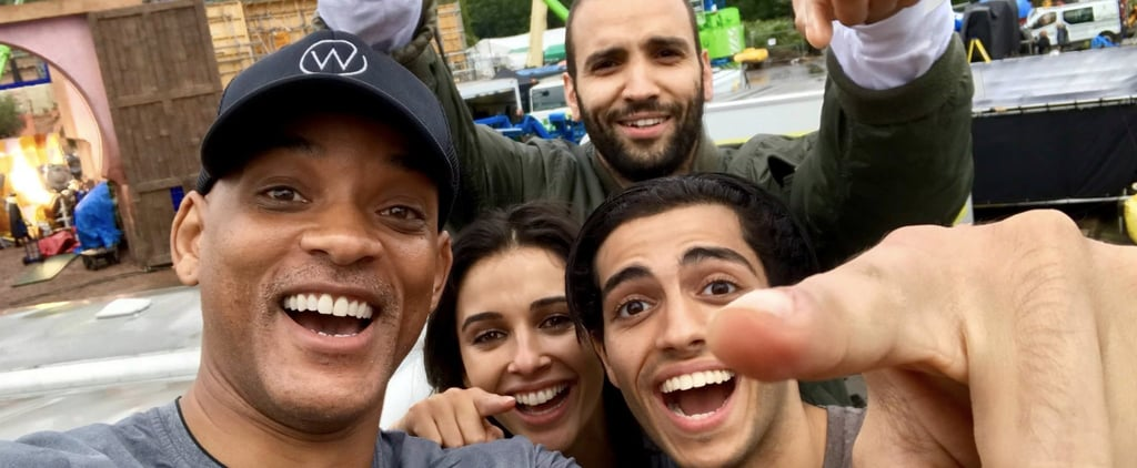 Will Smith Shares Photo of Aladdin Cast