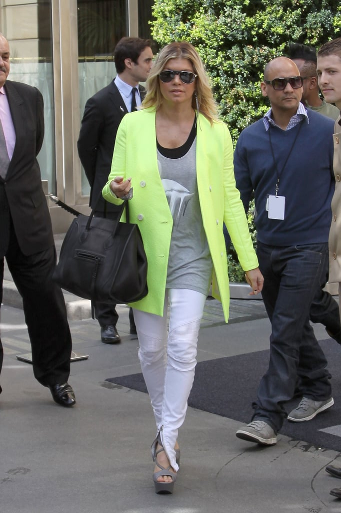 b84c91db49 Celebrities Carrying Celine Luggage Tote (Pictures)