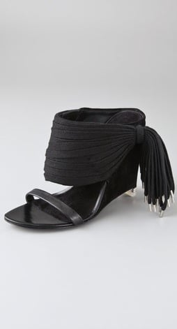 Alexander Wang Eliza Wedge Sandals ($368, originally $525)