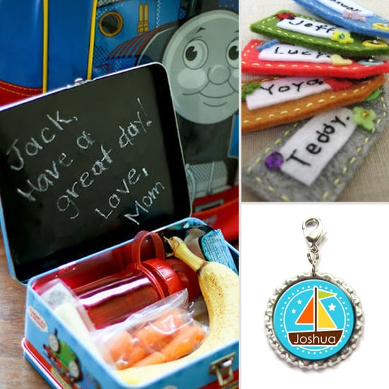Personalized Items For Kids' Lunches