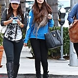 Selena Gomez went shopping with her girlfriends in LA.